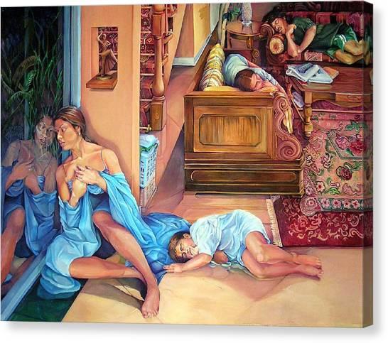 Promise Canvas Print by Julie Orsini Shakher