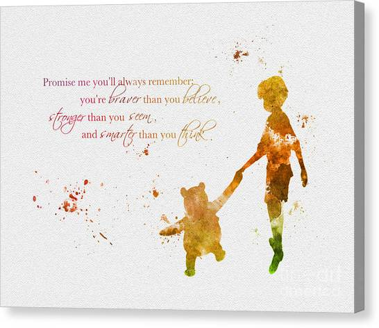 Promise Me You'll Always Remember Canvas Print