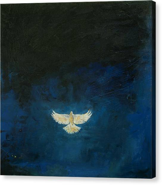 Dove Canvas Print - Promised Land by Michael Creese