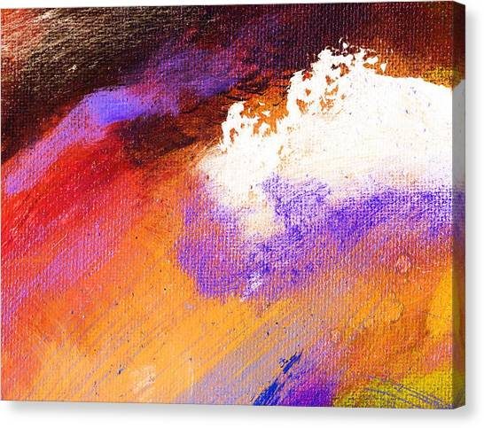Propel Ember Red Canvas Print by L J Smith