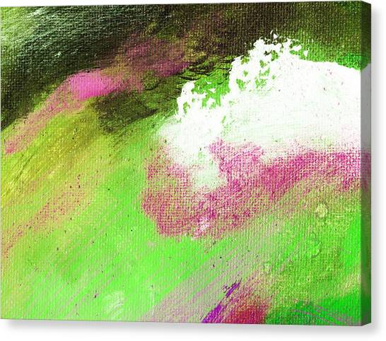 Propel Emerald Green Canvas Print by L J Smith