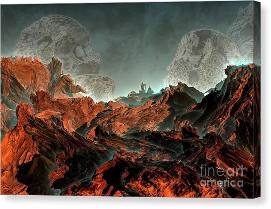 Prophecy Canvas Print by Bernard MICHEL