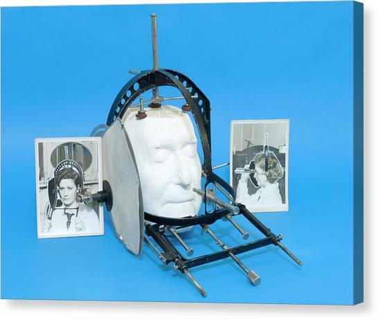 Braces Canvas Print - Prosopometer by Mark Thomas/science Photo Library