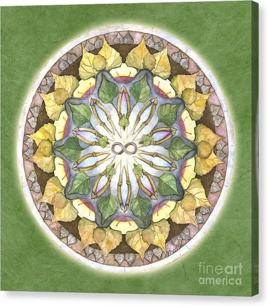 Prosperity Mandala Canvas Print