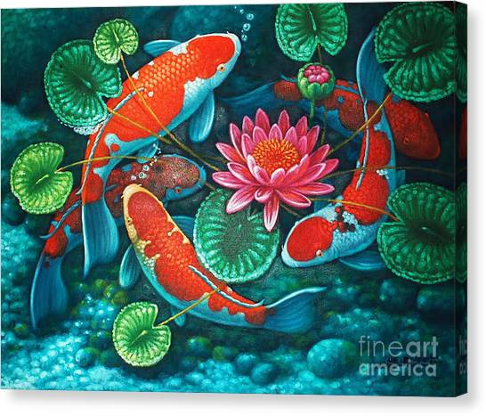 Prosperity Pond Canvas Print