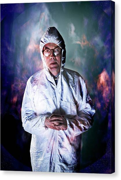Protective Clothing Canvas Print - Protective Suit by Coneyl Jay/science Photo Library