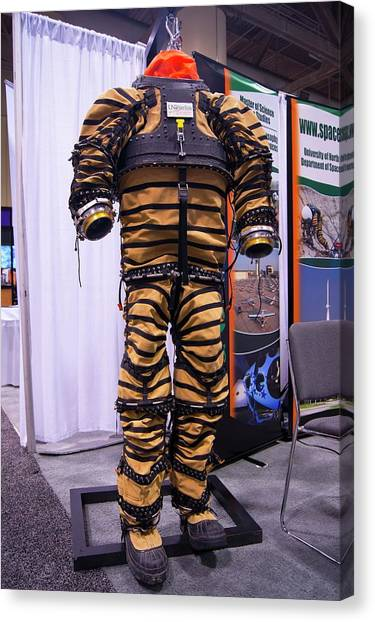 Protective Clothing Canvas Print - Prototype Spacesuit by Mark Williamson/science Photo Library