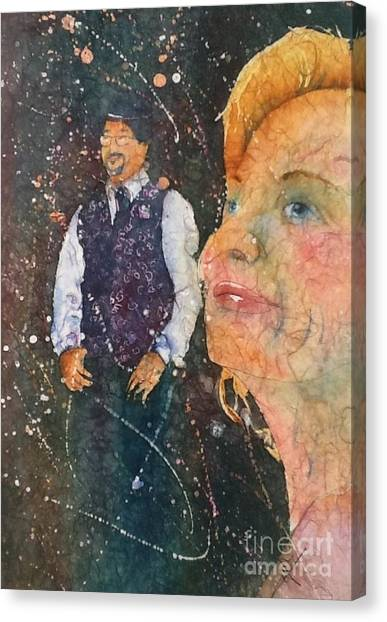 Proud Mother Of The Groom Canvas Print
