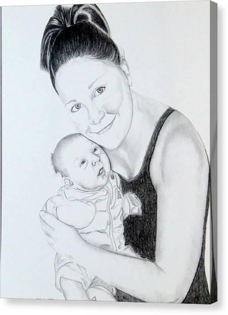 Proud Parent Canvas Print