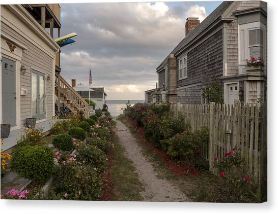 Provincetown Alley Canvas Print