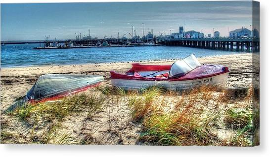 Provincetown Beach Canvas Print by Susan Lee Giles