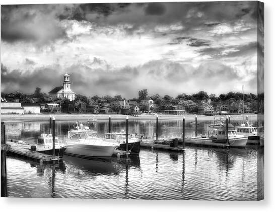 Provincetown Harbour View II Canvas Print