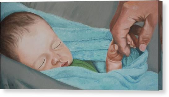 Psalm Four Eight Canvas Print