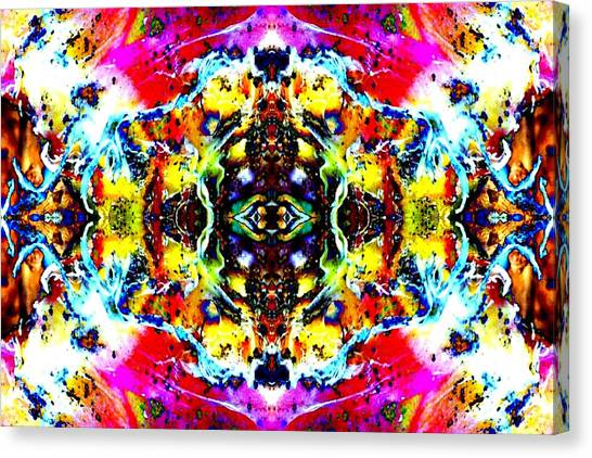 Psychedelic Abstraction Canvas Print