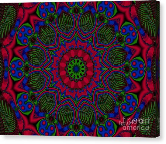 Psycho Babble  Canvas Print by Bobby Hammerstone