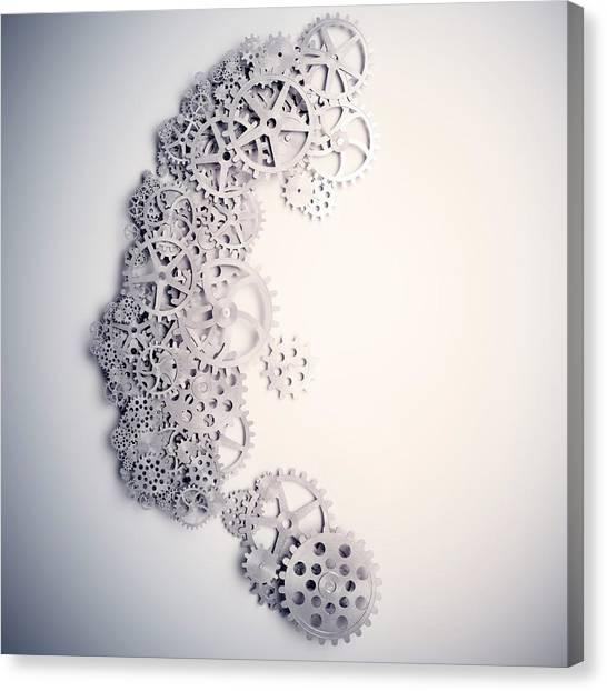 Psychology Canvas Print by Andrzej Wojcicki