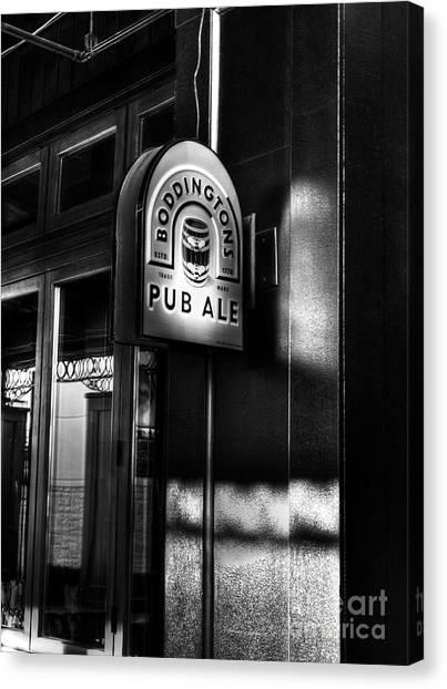 Canvas Print featuring the photograph Pub Ale by Mel Steinhauer