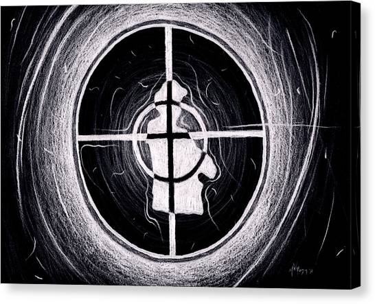 Public Enemy Hurricane Inverted Canvas Print