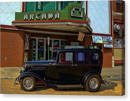 1932 Ford Canvas Print - Public Enemy Number One by Tim McCullough