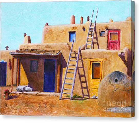 Pueblo Canvas Print