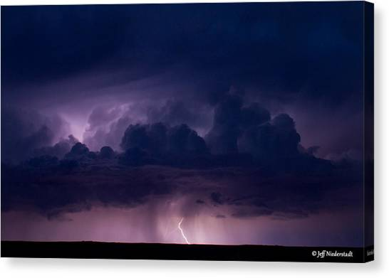 Pueblo Lightning Canvas Print