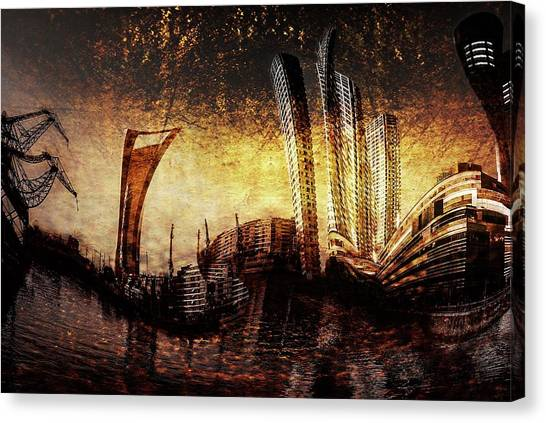 Argentinian Canvas Print - Puerto Madero Buenos Aires by Alfredo Ya?ez