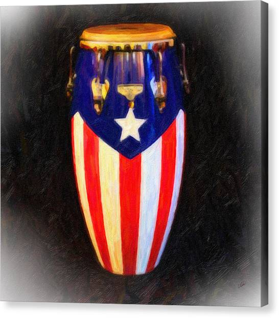 Puerto Rican Bomba Canvas Print