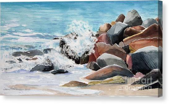Puerto Vallarta Rocks Canvas Print