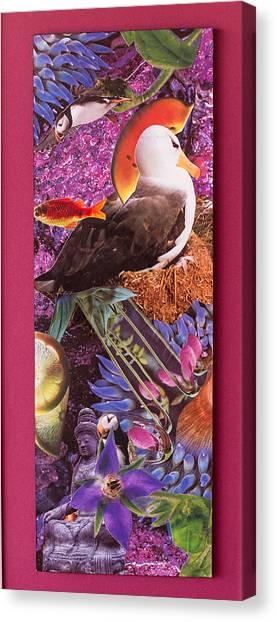 Puffin Dream Canvas Print