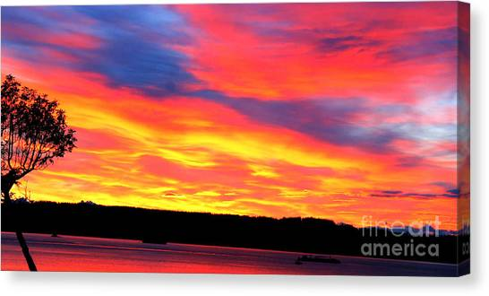 Puget Sound Colors Canvas Print