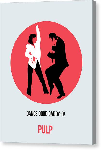 Pulp Fiction Canvas Print - Pulp Fiction Poster 5 by Naxart Studio