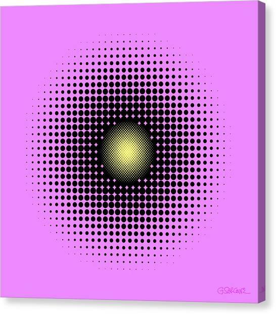Pulsations Canvas Print