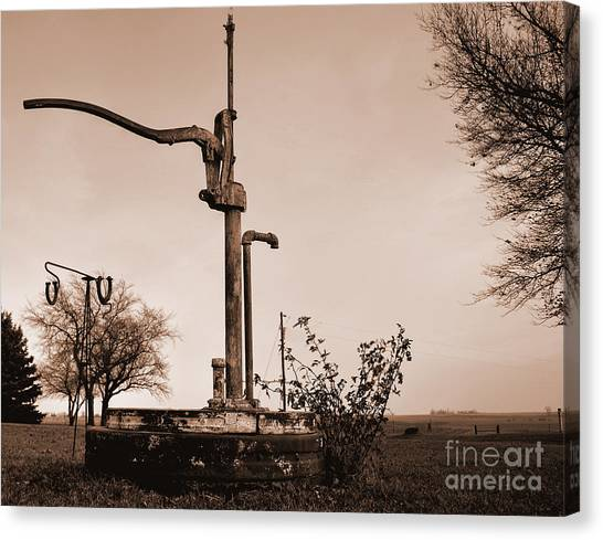 Pump3 Canvas Print