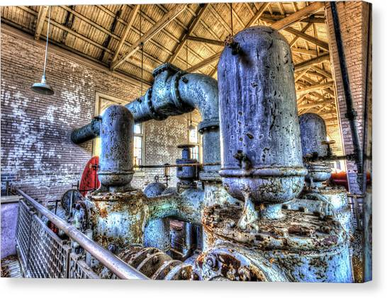 Pumping Station I Canvas Print