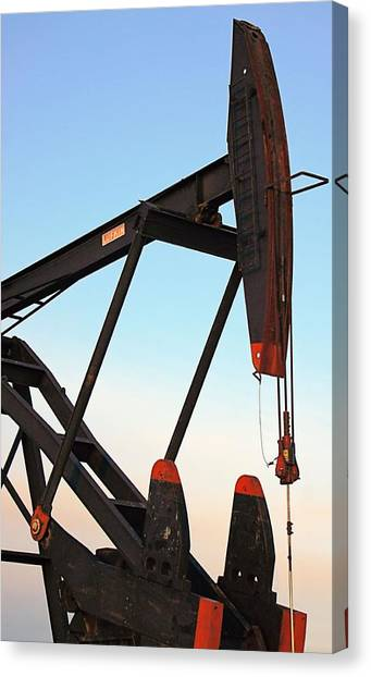 Pumpjack Canvas Print
