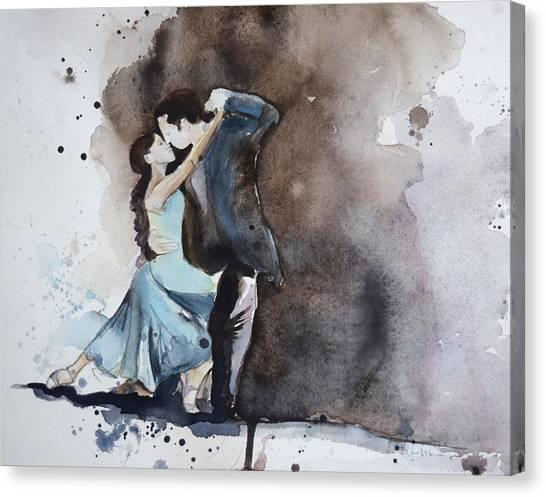 Tango Canvas Print - Punctuation by Lauren Bolshakov