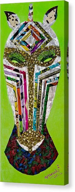 Punda Milia Canvas Print