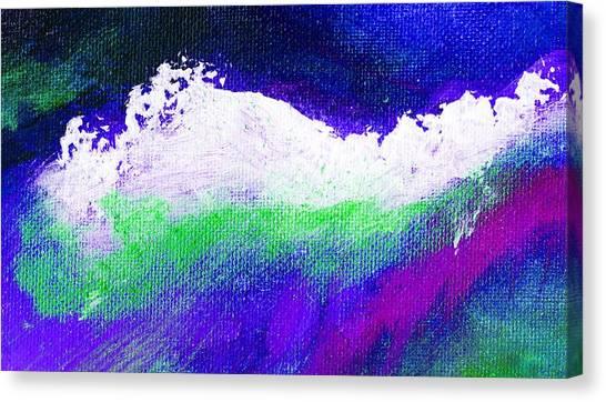 Pura Purple Canvas Print by L J Smith