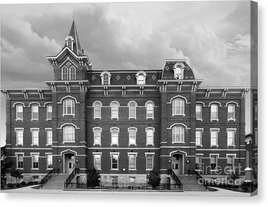 Purdue University Canvas Print - Purdue University Hall by University Icons