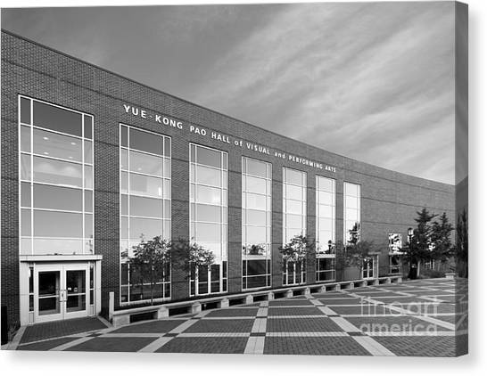 Purdue University Canvas Print - Purdue University Pao Hall  by University Icons