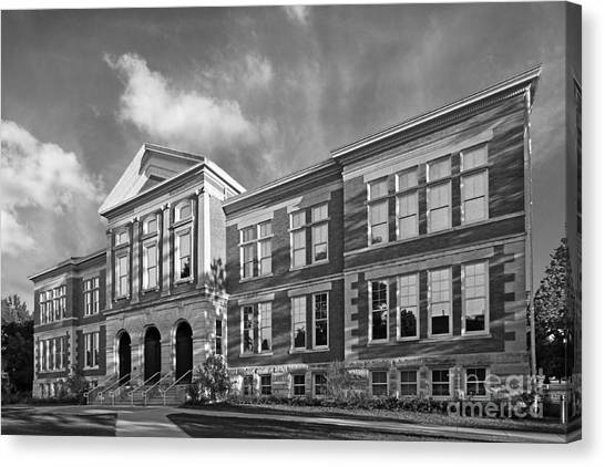Purdue University Canvas Print - Purdue University Pfendler Hall by University Icons