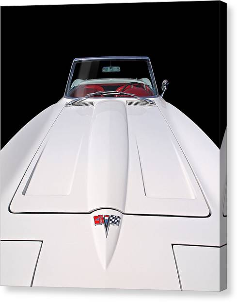Pure Enjoyment - 1964 Corvette Stingray Canvas Print