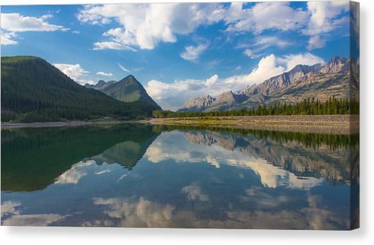 Purely Alberta Canvas Print by Laura Bentley