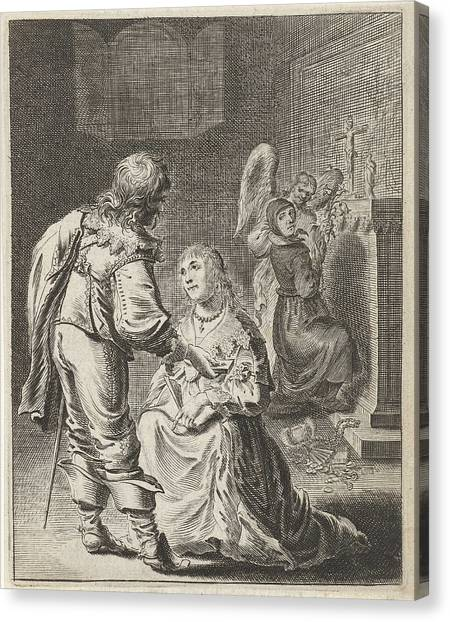 Gloria Canvas Print - Purity And Vanity, Pieter Nolpe by Pieter Nolpe