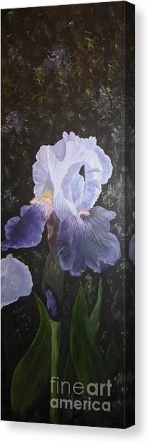Purple Elegance Canvas Print
