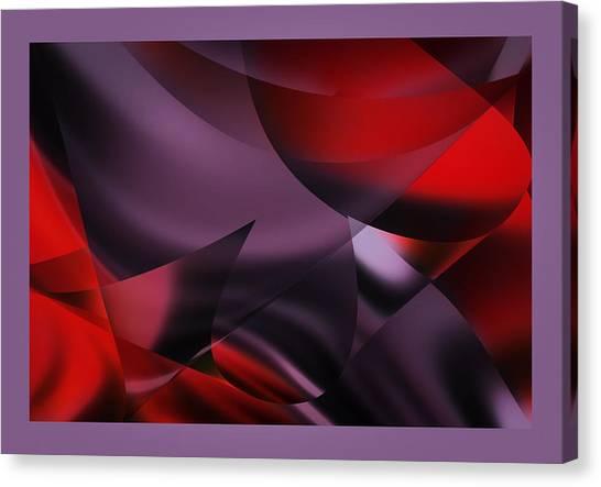 Purple Energy  Canvas Print