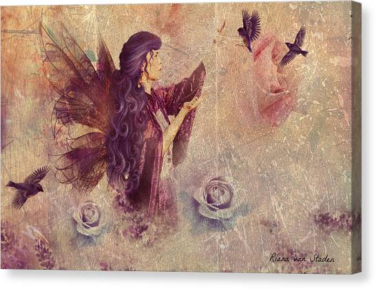 Purple Fairy Canvas Print