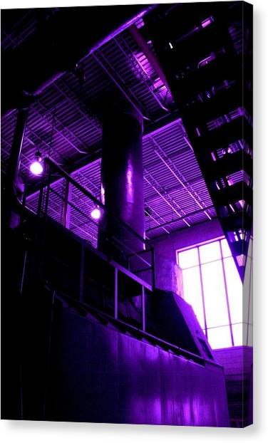 Purple Generator Canvas Print