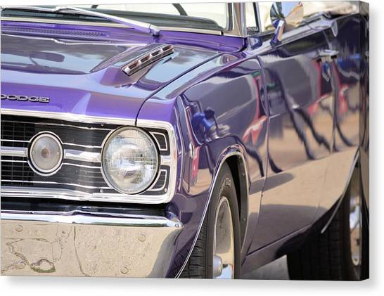 Purple Mopar Canvas Print