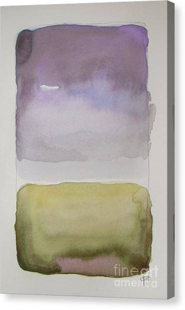 Abstract Canvas Print - Purple Morning by Vesna Antic